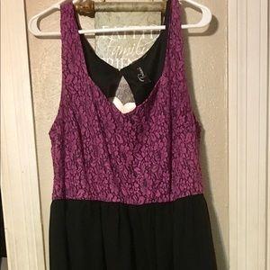 Trixxi size 2x Hi Low Party Dress